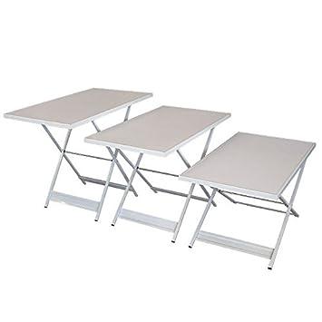 Mesa multiusos plegable - Mesa de trabajo Mesa fiesta Mesa 3 ...