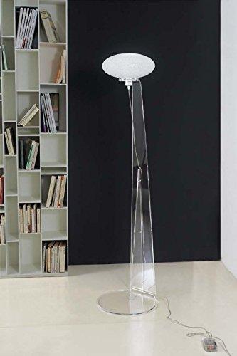 Emporium - Lámpara de pie H 165 de policarbonato granulare ...