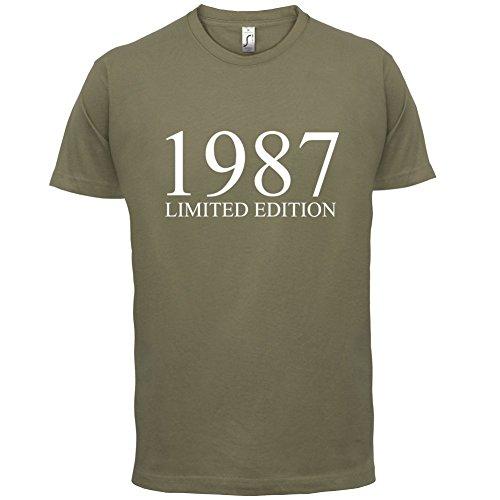 1987 Limierte Auflage / Limited Edition - 30. Geburtstag - Herren T-Shirt - Khaki - XL