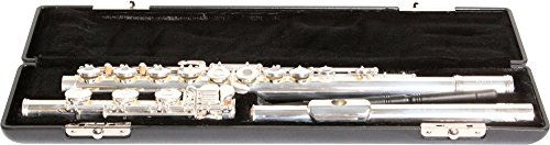 Gemeinhardt 3OSB Flute Solid-Silver NG1 Headjoint, Open-Hole Body, and B-footjoint, with Offset G - Solid Silver Flute