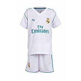 Real Madrid Maillot Football + Short Cristiano Ronaldo 7 Rép