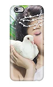 CaseyKBrown Fashion Protective Beautiful Asian Model Case Cover For Iphone 6 Plus