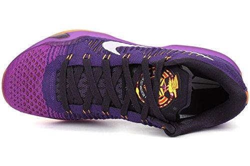 Nike Mens Kobe X Elite Low Handball Shoes, Talla Viola / Bianco / Nero (crt Prpl / White-vvd Prpl-cv Prp)