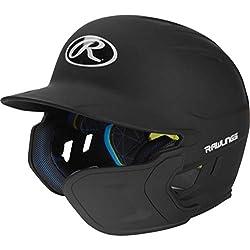 Rawlings Casco de Béisbol Negro