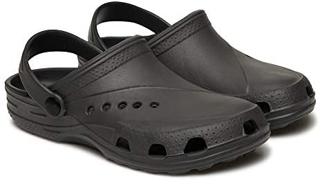 Dune ast 601 Sabo for Womens Size 10 Color Grey Clogs for