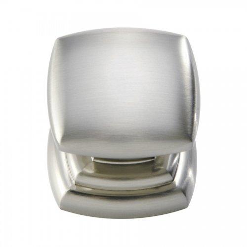 Hickory Hardware P3181-SN 1-1/4-Inch Euro-Contemporary Knob, Satin Nickel