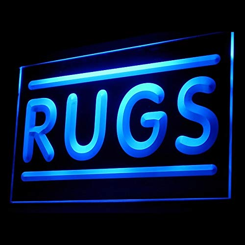 120078 Rugs Shop Bedroom Carpet Comfortable Leather Display LED Light ()