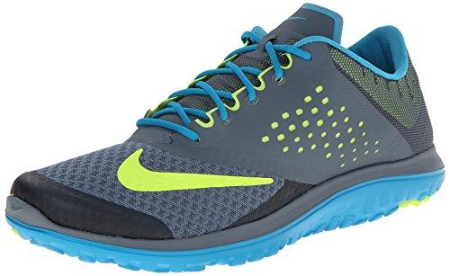 Nike FS Lite Run 2, Scarpe Stringate da Donna Grigio