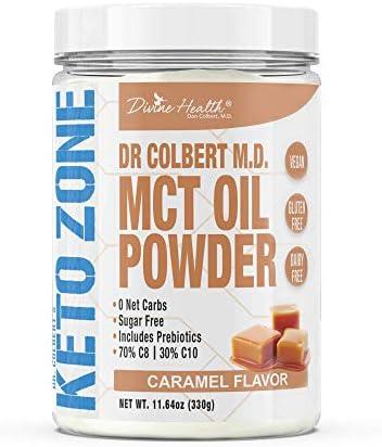 Dr. Colbert's Keto Zone® MCT Oil Powder...