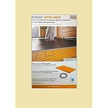SCHLUTER DITRA Heat Kit DHEK12040 Flooring Warming Kit: Thermostat + Mat + Cable
