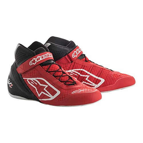 Size 6 White//Black//Orange Fluorescent Alpinestars 2713018-2146-6 Tech 1-KZ Shoes