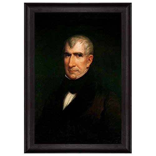 Portrait of William Henry Harrison by James Reid Lambdin (9th President of the United States) American Presidents Series Framed Art Print