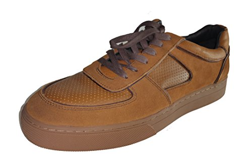 Coach-Men-Duke-Sneakers-Shoes-Saddle-95-M