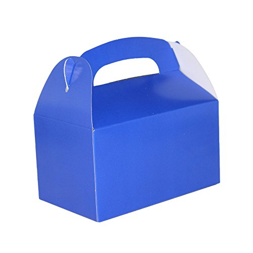 Blue Bright Color Treat Boxes (Pack of 12) - Play Kreative TM (Blue) ()