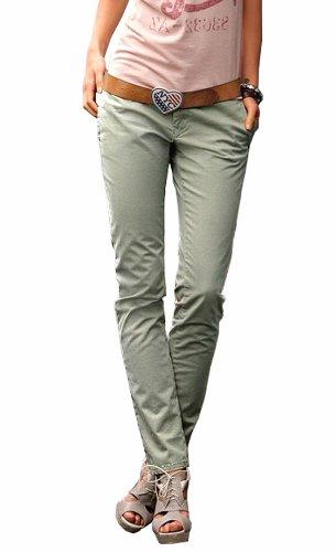 Femme Helloliv Hilfiger Pantalon Denim Vert qwUZa6p