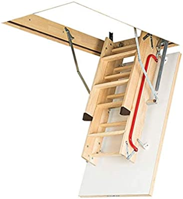 FAKRO suelo Escaleras LWK comodidad Plus 55 x 111 x 280: Amazon.es: Bricolaje y herramientas
