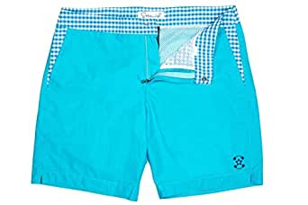 Sttarwish Blue Swim Short For Men