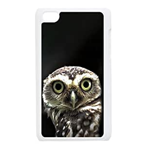 Owl in the Dark iPod Touch 4 Case White phone component RT_399942