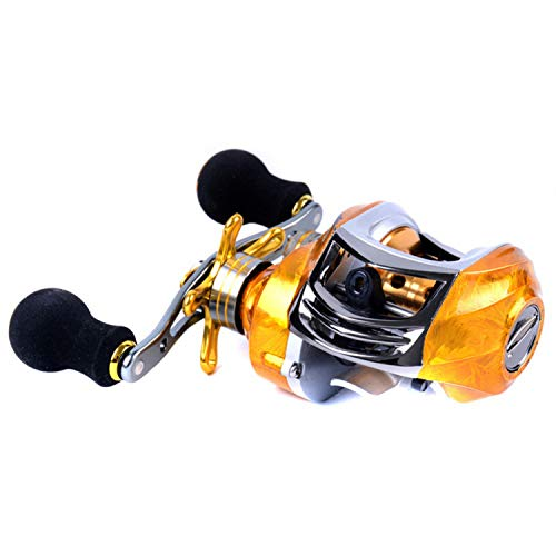 - 19 Bearing Left/Right-Handed Strong Metal Bearings Drum Fishing Reel Fishing Accessories for Boat Ocean Fishing,Right Hand