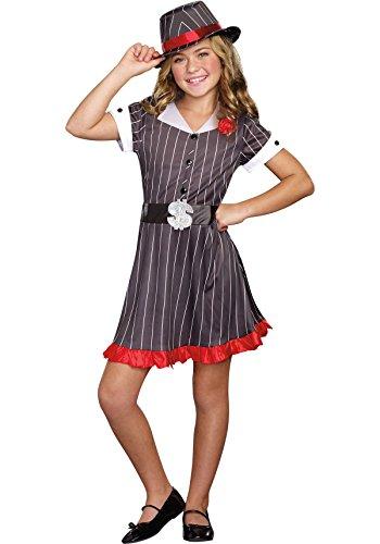 Child's Land Girl Costume (SugarSugar Girls Ally Capone Costume, One Color, Large, One Color, Large)