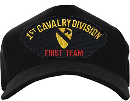 - Eagle Crest U.S. Army 1st Cavalry Division First Team Baseball Cap Black