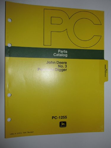 John Deere 3 Posthole Digger (Tractor 3-pt. Mounted) Parts Catalog Book Manual Original JD ()