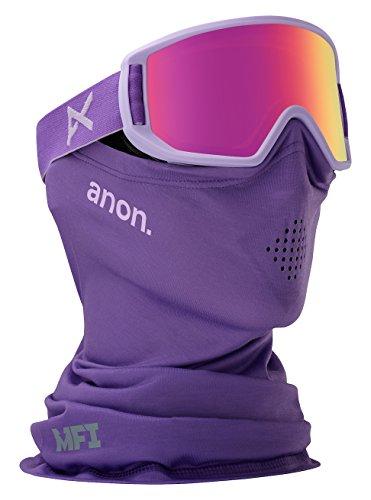Jr Ski Goggle - Anon Relapse Jr. MFI Goggle, Purple/Pink Amber Lens