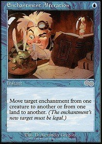 Magic: the Gathering - Enchantment Alteration - Urza's Saga