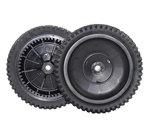 (Antanker Replacement Husqvarna 180767 Front Drive Wheel for AYP/Sears/Craftsman/Jonesred/Poulon/Husqvara 532180767 Mower Wheel 2 Pack)