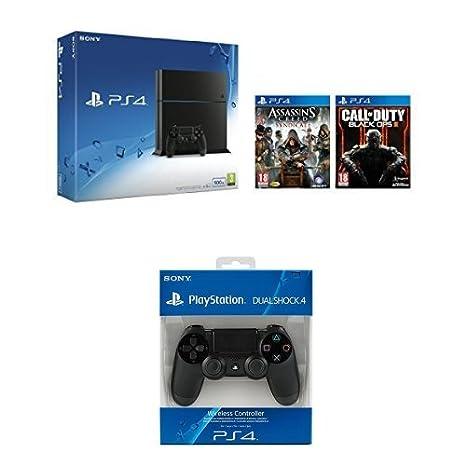 PlayStation 4 (PS4) - Consola 500GB + PlayStation Plus ...