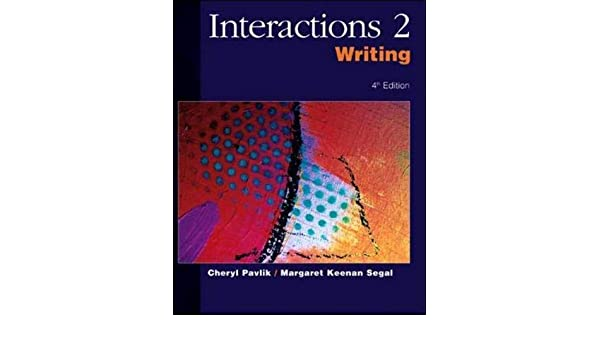 حل كتاب interactions 1 listening and speaking