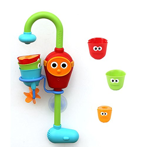 Stacker baby faucet water toys kids bath toys swimming play taps