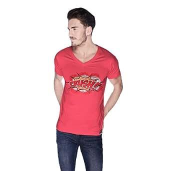 Cero Crush Retro T-Shirt For Men - Xl, Pink