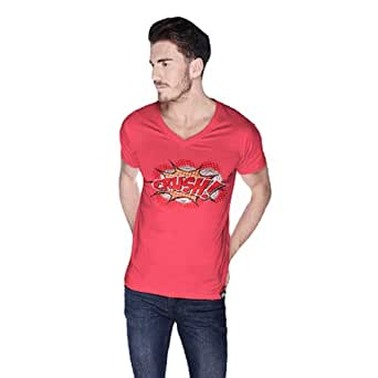 Cero Crush Retro T-Shirt For Men - Xl, Pink