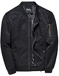 b39c02cd1eb Men's Mid-Weight Flight Air Force Bomber Letterman Jacket Tactical Outwear