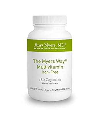 The Myers Way® Multivitamin Iron-Free - 30 Servings - Easy to swallow capsules