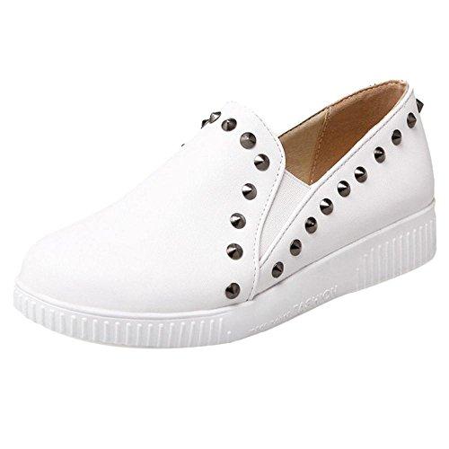 Coolcept Zapatos de Primavera para Mujer White