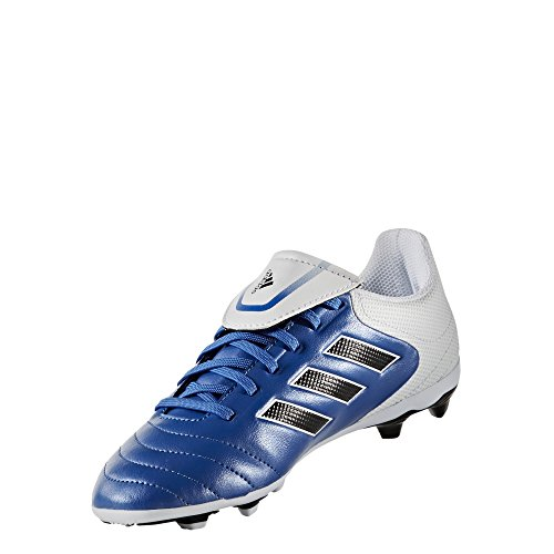 Adidas Performance Kids' Copa 17.4 FxG J Firm Ground Soccer Cleat, Blue/White/Black, 13 M US Little Kid