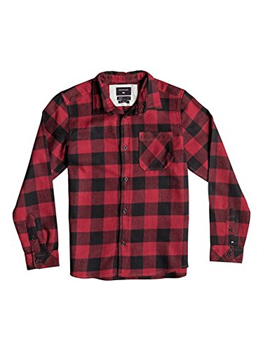 Boy's Red Plaid Shirt