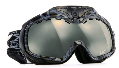 Liquid Image XSC 338BLKApex Series Snow Goggle Video Camera (Black) ()