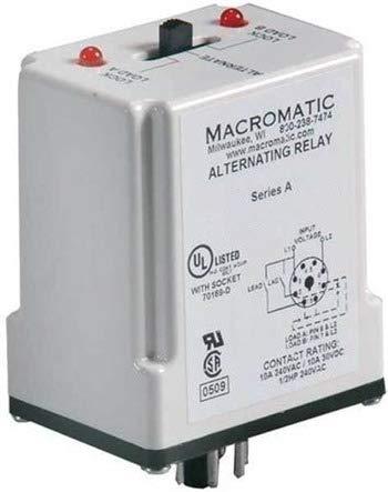 Macromatic ARP024A5R DPDT 24V Cross Wired Duplexor Alternating Relay
