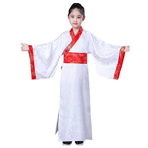 Hanfu Men's amp;red Costume Boys Ancient Robe sofei Chinese white Ez Dynasty Cosplay C Traditional Han ZRw8gqPx5T