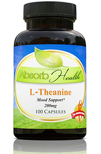 Absorb Health L-Theanine 200mg Capsules, 100 Count Review
