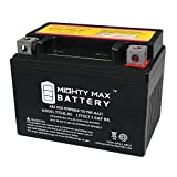 Mighty Max Battery YTX4L-BS Replaces Motorcycle Scooter ATV Batteries Brand Product