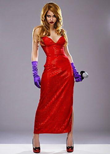 Magic Box Jessica Rabbit Estilo Femme Fatale Traje S (UK 8-10 ...