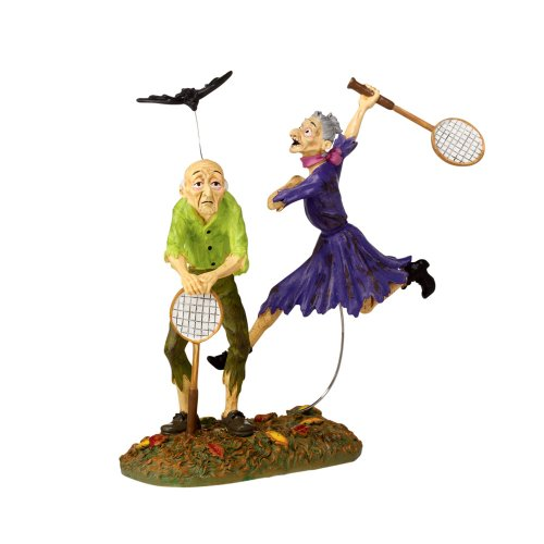 Department 56 Snow Village Halloween Badminton Accessory Figurine