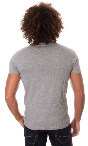 Kurzärmeliges T-Shirt Tunnel Tee s/s core Light Grey Melange Ba JACK & JONES XL Herren