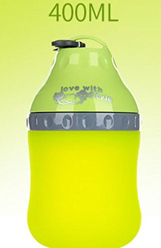 ZHJZ Cuenco para Perros Botella de Agua Portátil para Mascotas Travel Mascota para Mascotas Kettle Drinker