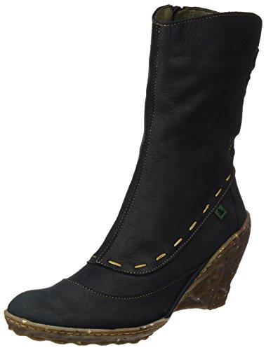 Stiefel Ambar Naturalista Black N485 Kurzschaft El Damen Pleasant qzHfcH0w