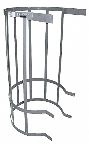 Ladder Safety Cage, Top Section, 5 ft. Overall Height, 30-1/2